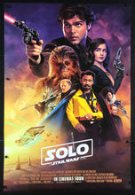 Load image into Gallery viewer, An original movie poster for the film Solo: A Star Wars Story