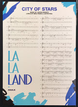Load image into Gallery viewer, A guaranteed original IMAX movie poster for the film La La Land