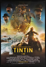 Load image into Gallery viewer, An original movie poster for the film The Adventures of TinTin