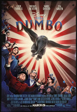 Load image into Gallery viewer, An original movie poster for the Disney film Dumbo