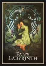 Load image into Gallery viewer, An original movie poster for the film Pan's Labyrinth by Drew Struzan