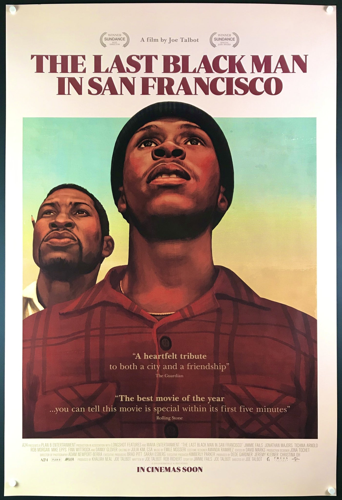The Last Black Man in San Francisco - 2019 - Original Movie Poster – Art of  the Movies
