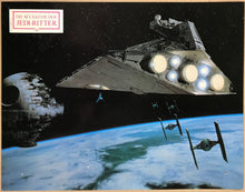 Load image into Gallery viewer, Original German lobby cards for the Star Wars film The Rerun of the Jedi