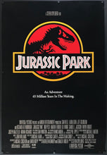 Load image into Gallery viewer, An original movie poster for the film Jurassic Park