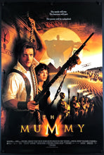 Load image into Gallery viewer, An original movie poster for the 1999 film The Mummy