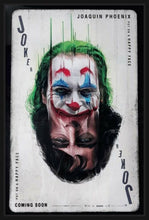 Load image into Gallery viewer, An original movie poster for the Joker, 2019