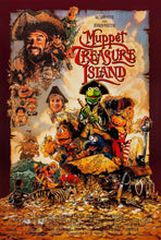 Load image into Gallery viewer, An original movie poster for the Jim Henson film Muppet Treasure Island