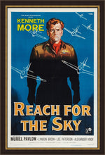 Load image into Gallery viewer, An original one sheet movie poster for the film Reach for the Sky