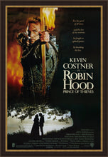 Load image into Gallery viewer, An original movie poster for the film Robin Hood Prince of Thieves