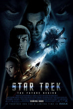 Load image into Gallery viewer, An original movie poster for the 2009 Star Trek film