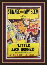 Load image into Gallery viewer, An original movie / film poster from 1937 for Starnge As It May Seem / Little Jack Horner