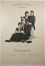 Load image into Gallery viewer, An original movie poster the The Favourite