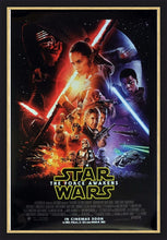 Load image into Gallery viewer, An original movie poster for Star Wars The Force Awakens
