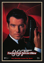 Load image into Gallery viewer, An original movie poster for the James Bond film Tomorrow Never Dies