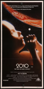 An original movie poster for the film 2010 : The Year We Make Contact