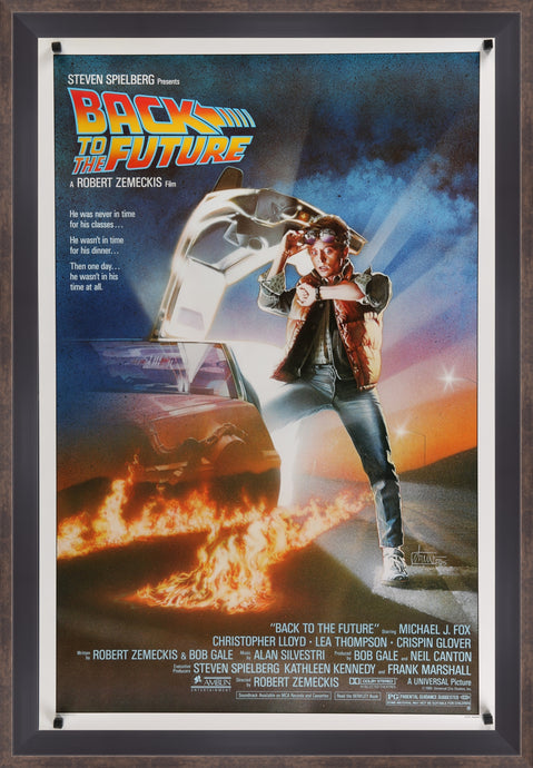 Back to the Future - 1985 - Art of the Movies