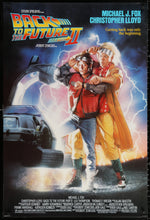 Load image into Gallery viewer, An original movie poster for the film Back to the Future II / 2