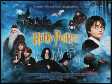 Load image into Gallery viewer, An original movie poster for the film Harry Potter and the Philosopher's Stone
