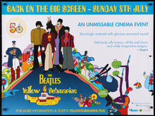 Load image into Gallery viewer, An original movie poster for the Beatles Film The Yellow Submarine
