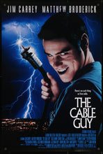 Load image into Gallery viewer, An original movie poster for the film The Cable Guy
