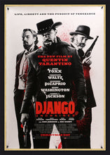 Load image into Gallery viewer, An original movie poster for the Tarantino film Django Unchained
