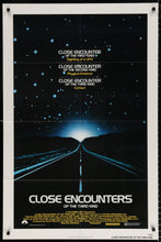 Load image into Gallery viewer, An original movie poster for the film Close Encounters Of The Third Kind