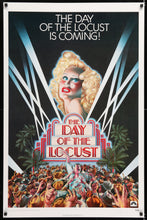 Load image into Gallery viewer, An original movie poster for the film The Day Of The Locust