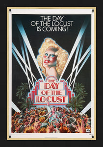 An original movie poster for the film The Day Of The Locust
