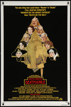 Load image into Gallery viewer, An original movie poster for the 1978 film adaptation of Agatha Christie's Death On The Nile