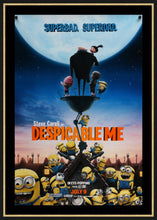 Load image into Gallery viewer, An original movie poster for Despicable Me with the minions