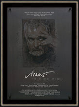 Load image into Gallery viewer, An original autographed poster for Drew: The Man Behind the Poster