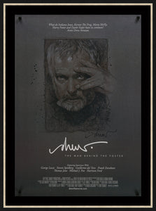 An original autographed poster for Drew: The Man Behind the Poster
