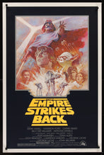 Load image into Gallery viewer, An original movie poster for Star Wars The Empire Strikes Back