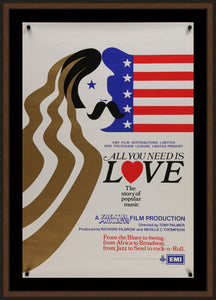 An original movie / film poster for All You Need Is Love.
