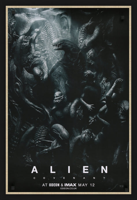 An original movie poster for the film Alien Covenant