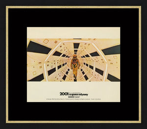 An original lobby card for the film 2001: A Space Odyssey