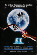Load image into Gallery viewer, An original movie poster for E.T. The Extra Terrestrial