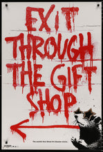 Load image into Gallery viewer, An original movie poster for the Banksy film Exit Through The Gift Shop