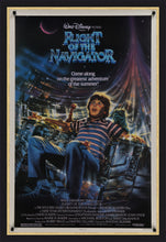 Load image into Gallery viewer, An original movie poster for the Disney film Flight of the Navigator