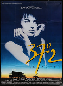 An original French movie poster for the film Betty Blue