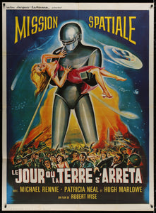 An original movie / film poster for The Day The Earth Stood Still