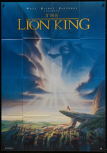 Load image into Gallery viewer, An original film / movie poster for The Lion King