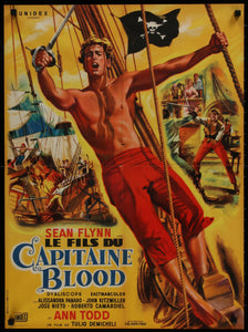 "An original film / movie poster for ""The Son of Captain Blood"""