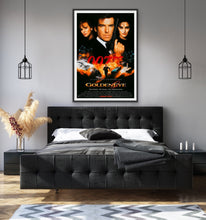 Load image into Gallery viewer, An original movie poster for the the James Bond film Goldeneye