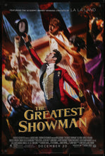 Load image into Gallery viewer, An original movie poster for the film The Greatest Showman