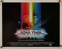 Load image into Gallery viewer, A guaranteed original US half sheet movie poster for Star Trek - The Motion Picture