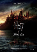 Load image into Gallery viewer, An original movie poster for the film Harry Potter and the Deathly Hallows
