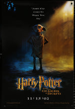Load image into Gallery viewer, An original movie poster for HARRY POTTER and THE CHAMBER OF SECRETS