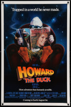 Load image into Gallery viewer, An original movie poster for the Marvel film Howard The Duck