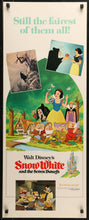 Load image into Gallery viewer, An original movie poster for the Disney film Snow White and the Seven Dwarfs
